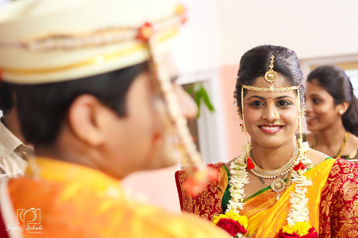 A smiling bride by Pankaj Rokade Photography  Wedding-photography | Weddings Photos & Ideas