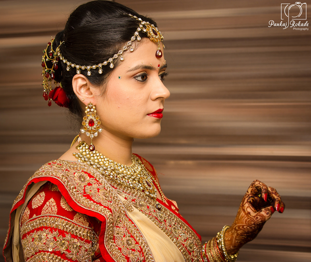 A beautiful portrait of the bride by Pankaj Rokade Photography  Wedding-photography | Weddings Photos & Ideas