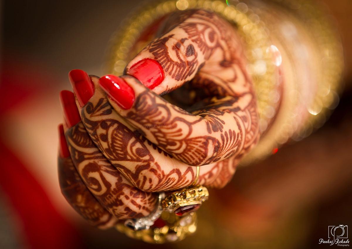 The brides elegant henna by Pankaj Rokade Photography  Wedding-photography   Weddings Photos & Ideas