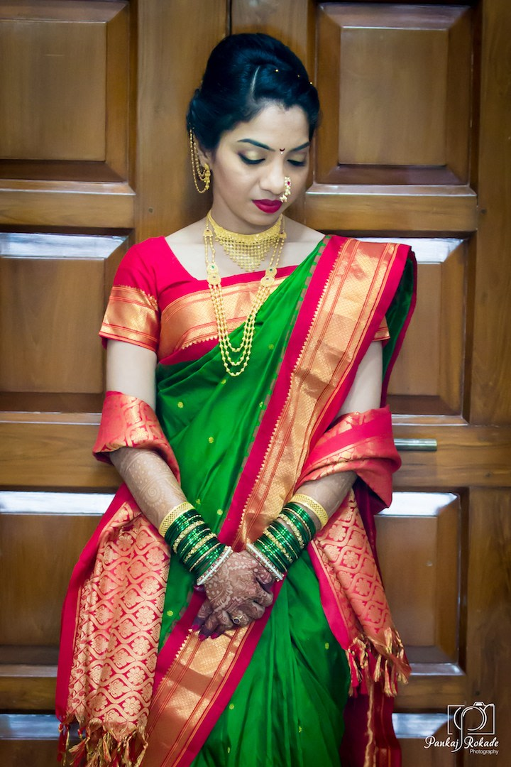 A portrait of the stellar bride by Pankaj Rokade Photography  Wedding-photography | Weddings Photos & Ideas