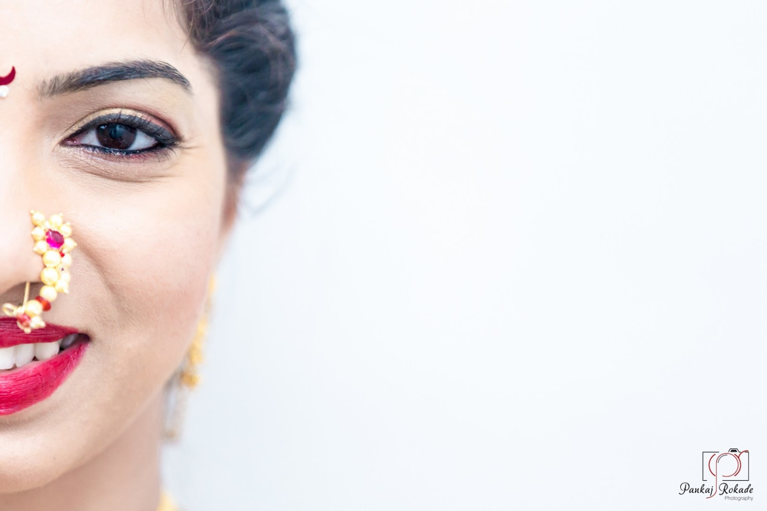 A beautiful smiling portrait of the bride by Pankaj Rokade Photography  Wedding-photography | Weddings Photos & Ideas