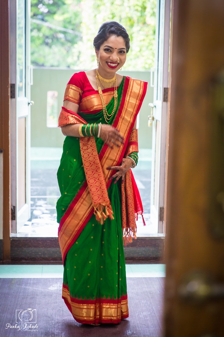 A smiling portrait of the stunning bride by Pankaj Rokade Photography  Wedding-photography | Weddings Photos & Ideas