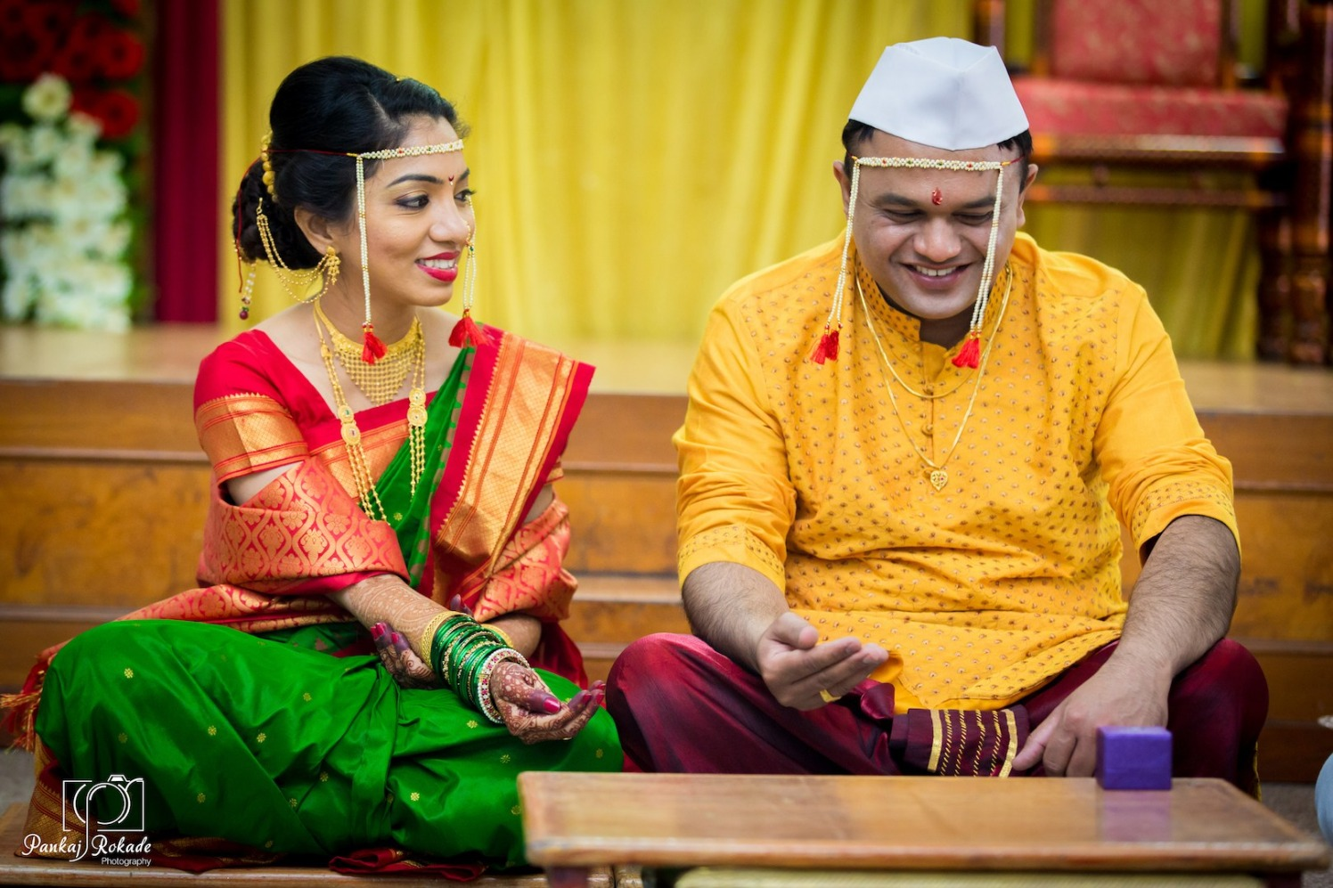 A candid picture of the stunning couple by Pankaj Rokade Photography  Wedding-photography | Weddings Photos & Ideas