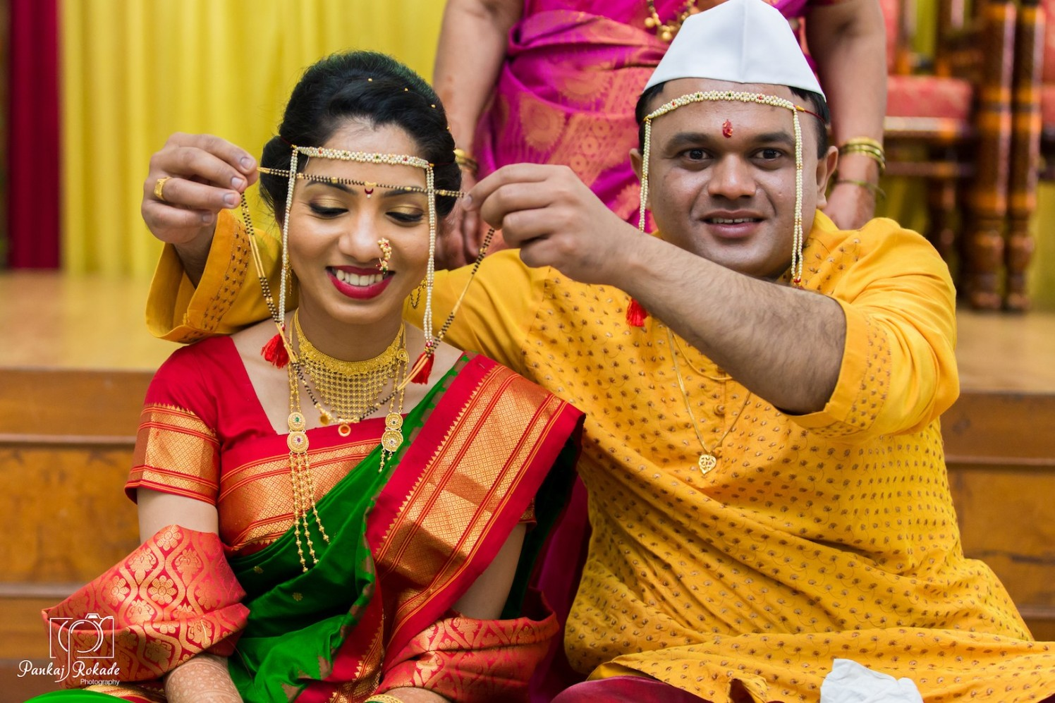 A magnificent picture of the stellar couple by Pankaj Rokade Photography  Wedding-photography | Weddings Photos & Ideas