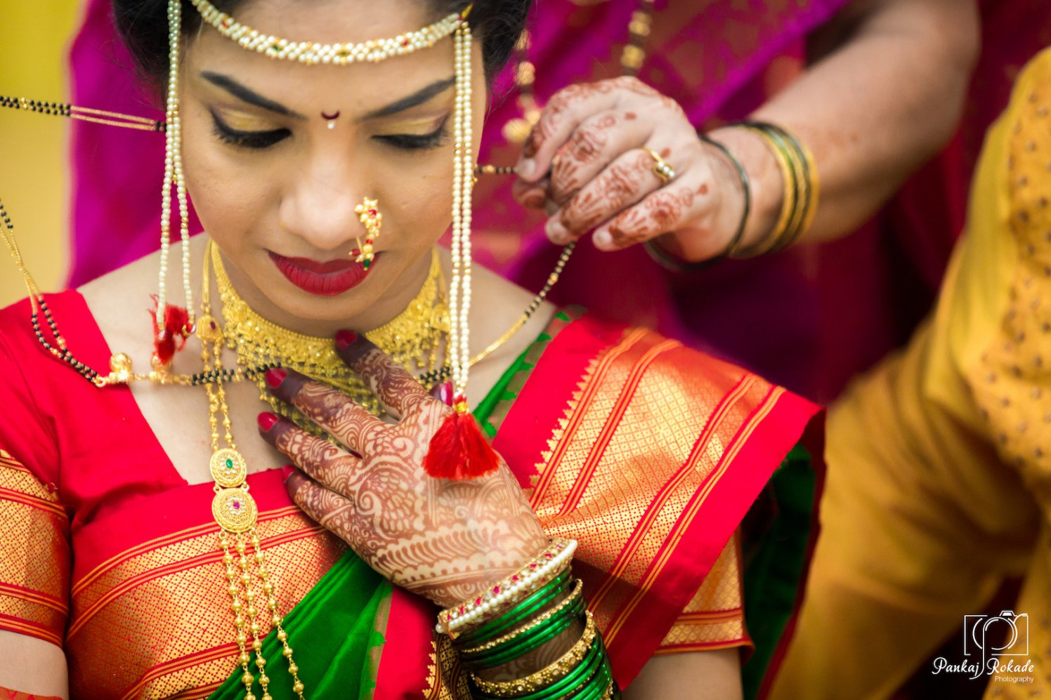 A stunning portrait of the bride wearing her jewellery by Pankaj Rokade Photography  Wedding-photography | Weddings Photos & Ideas