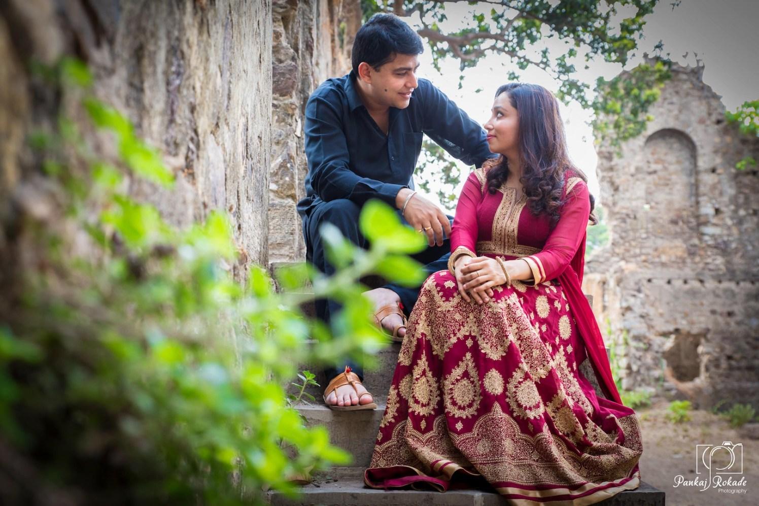 Pre wedding photograph of the stellar couple by Pankaj Rokade Photography  Wedding-photography | Weddings Photos & Ideas