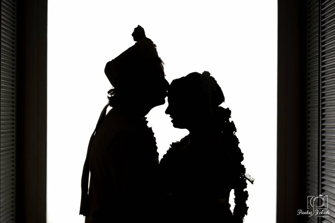 A stunning photograph of the married couple by Pankaj Rokade Photography  Wedding-photography | Weddings Photos & Ideas