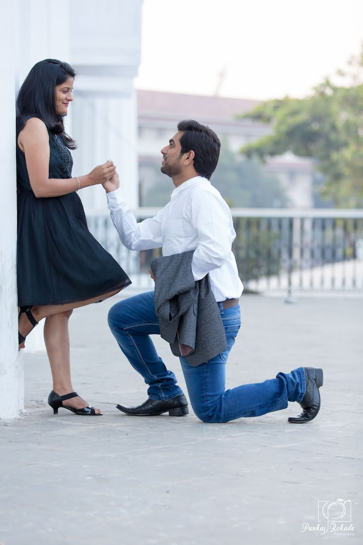 The proposal being done right by Pankaj Rokade Photography  Wedding-photography | Weddings Photos & Ideas