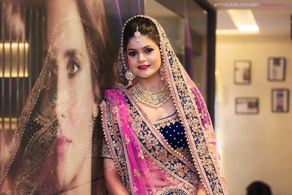 Charming bride by Mithilesh Choubey fotografia  Wedding-photography Wedding-dresses Bridal-makeup | Weddings Photos & Ideas