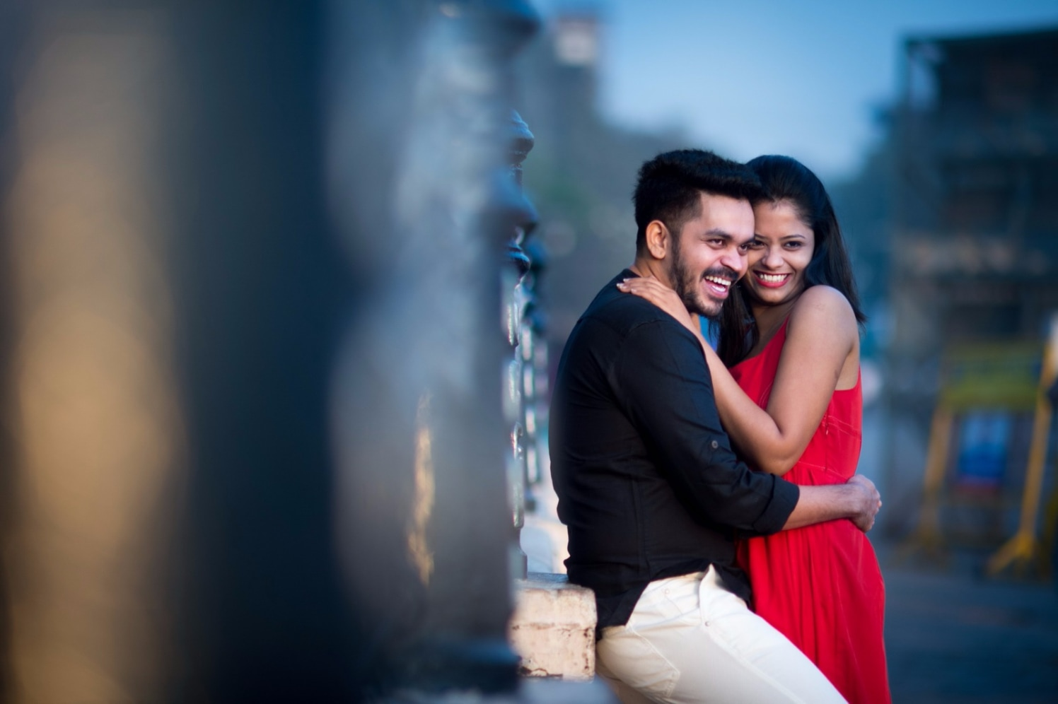 Embracing Each other by Vishal Kadam Photography Wedding-photography   Weddings Photos & Ideas