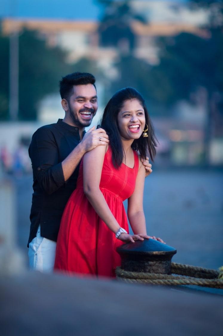 Cheerful Couple by Vishal Kadam Photography Wedding-photography | Weddings Photos & Ideas
