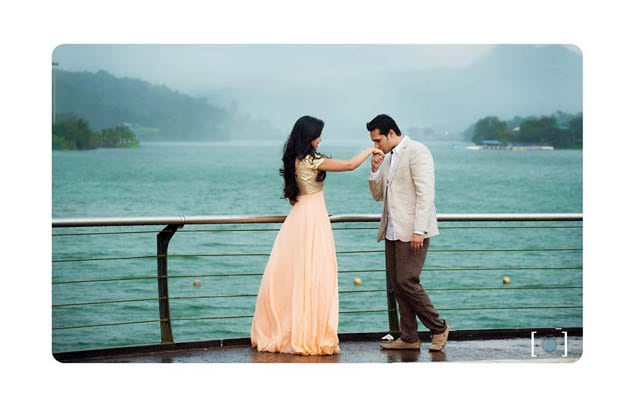 Bride and Groom To-Be In a Picturesque Location by Dhanika Choksi Wedding-photography | Weddings Photos & Ideas