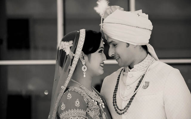 Beautiful Bride and Groom Portrait by Dhanika Choksi Photography Wedding-photography | Weddings Photos & Ideas