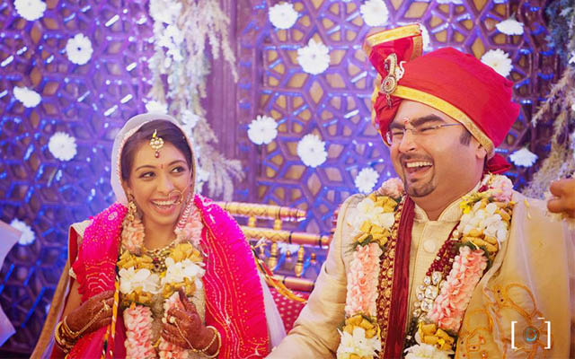 Bride and Groom in a Jovial Mood by Dhanika Choksi Wedding-photography | Weddings Photos & Ideas