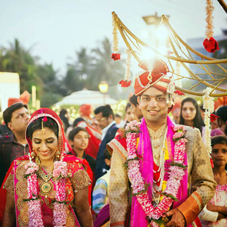 Gorgeous Bride and Groom During Their Wedding by Dhanika Choksi Wedding-photography | Weddings Photos & Ideas