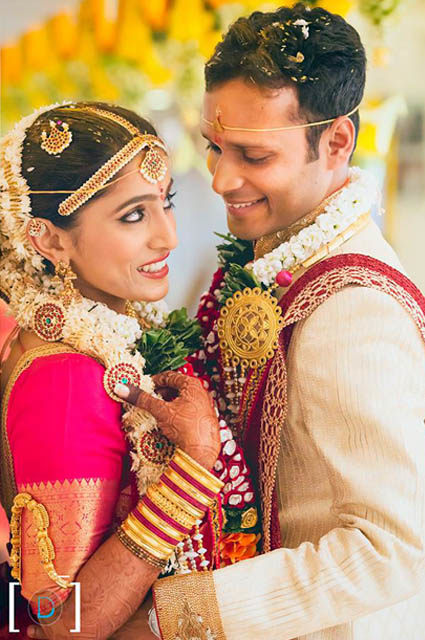 South Indian Bride and Groom Caught in a Candid Moment by Dhanika Choksi Wedding-photography | Weddings Photos & Ideas