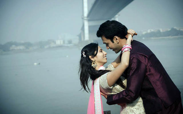 Bride and Groom To-Be By The Riverside by Sourav Kumar Das Wedding-photography | Weddings Photos & Ideas