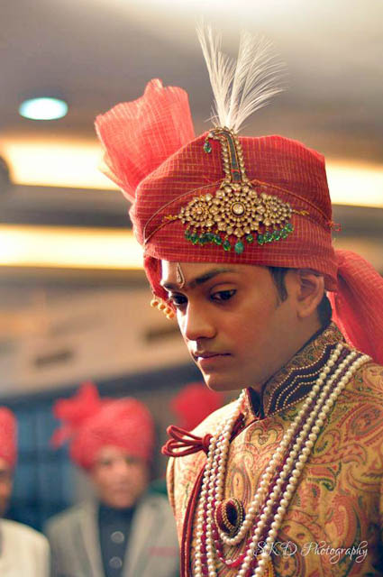 Groom Caught in a Candid Moment by Sourav Kumar Das Groom-wear-and-accessories | Weddings Photos & Ideas