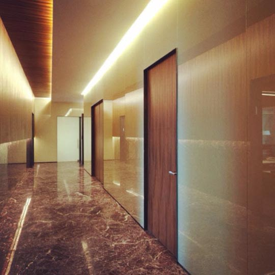 Elegant hallway decor by Blu Sapphire Indoor-spaces Modern | Interior Design Photos & Ideas