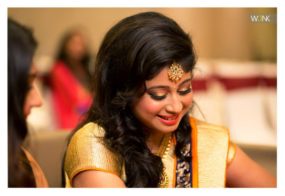 Candid bride photo shoot during her wedding reception by Wiink Wedding-photography | Weddings Photos & Ideas