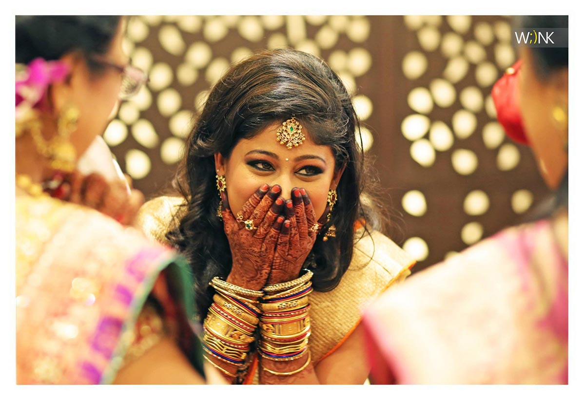 Candid bride shot by Wiink Wedding-photography | Weddings Photos & Ideas