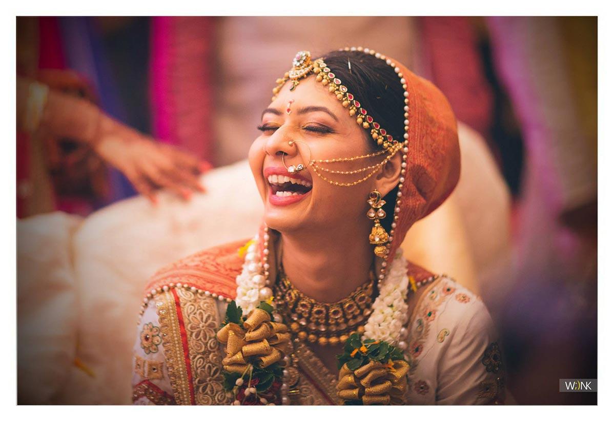 Candid happy bride shot by Wiink Wedding-photography | Weddings Photos & Ideas