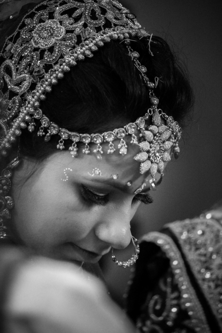 Elegant close up as the bride peeps down by Saurabh Photography Wedding-photography | Weddings Photos & Ideas