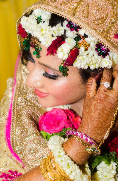 Magnificent Bride by Souvik Nandi Bridal-makeup | Weddings Photos & Ideas