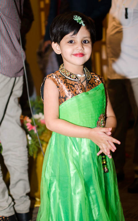 Green And Orange Outfit Ideas For Kids by Souvik Nandi Wedding-photography | Weddings Photos & Ideas