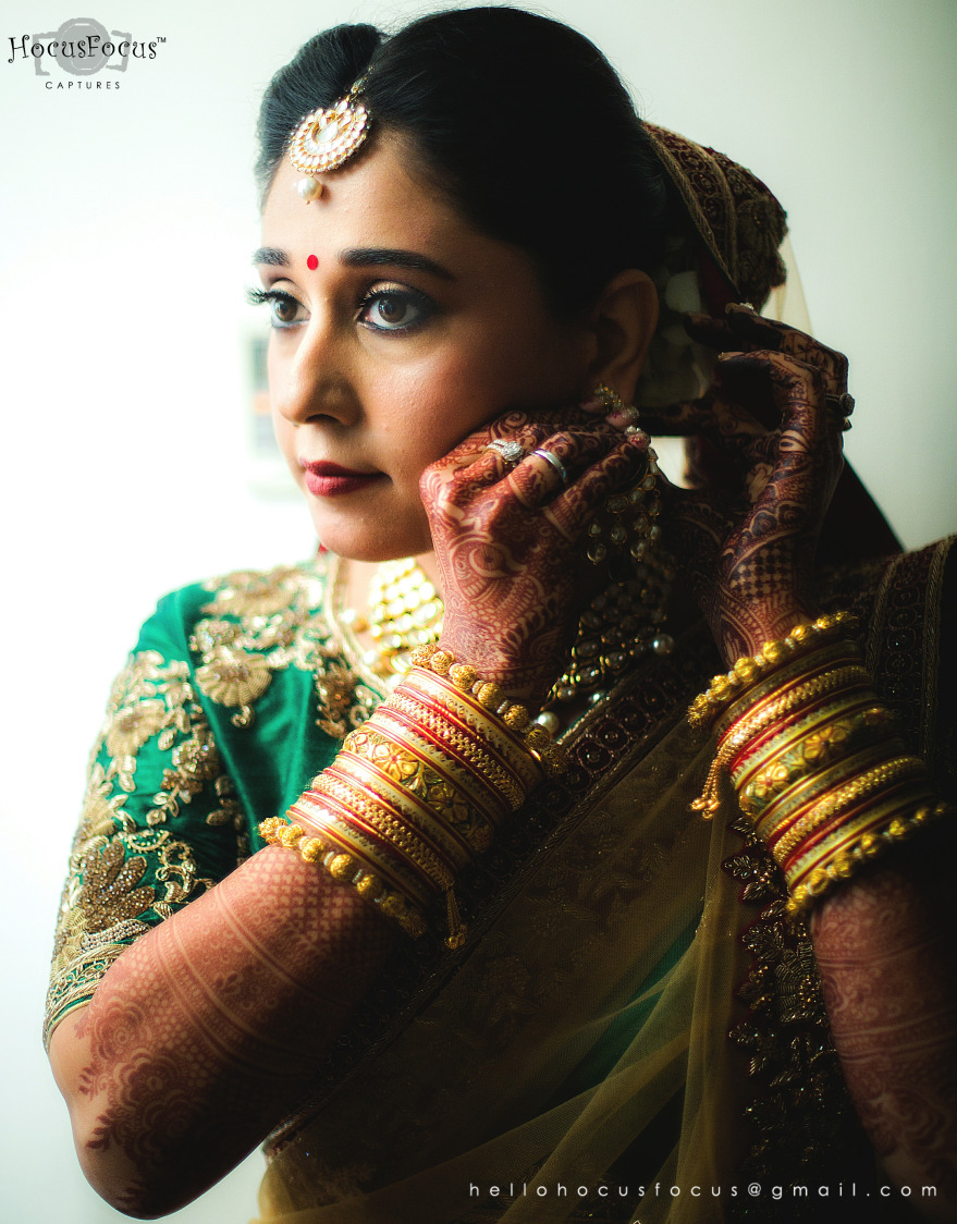 Beautiful Bride getting ready by HOCUS FOCUS PHOTOGRAPHY  Wedding-photography | Weddings Photos & Ideas