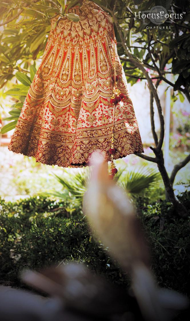 Beautiful lehenga by HOCUS FOCUS PHOTOGRAPHY  Wedding-photography | Weddings Photos & Ideas