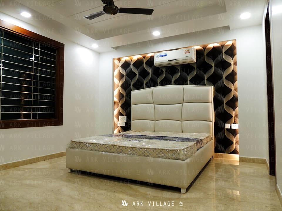 Plush master bedroom decor by ArchAmp Technologies Bedroom Modern | Interior Design Photos & Ideas