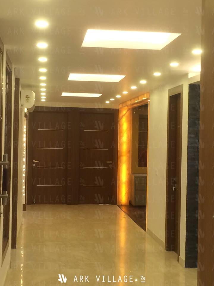 Elegant hallway decor by ArchAmp Technologies Modern | Interior Design Photos & Ideas