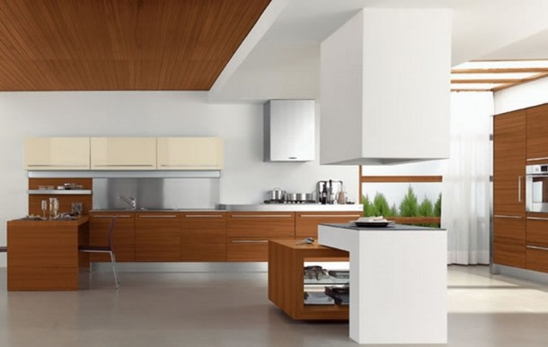 Open peninsular modular kitchen by ArchAmp Technologies Modular-kitchen Modern | Interior Design Photos & Ideas