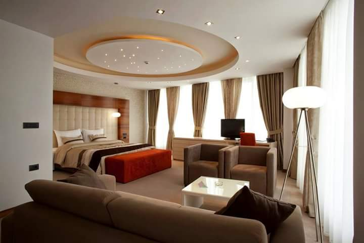 Plush master bedroom decor by ArchAmp Technologies Bedroom Modern | Interior Design Photos & Ideas