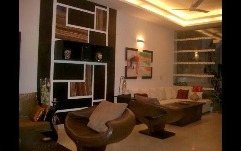 Plush living room decor by Richa Goel Living-room Modern | Interior Design Photos & Ideas