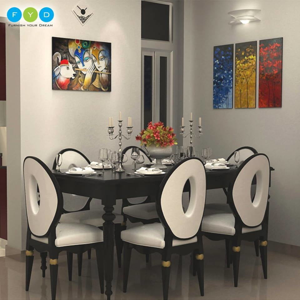 Unique dining room decor by Furnish Your Dream Dining-room Eclectic   Interior Design Photos & Ideas