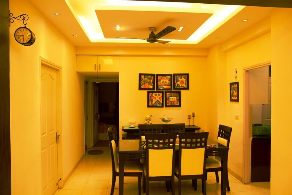 Modern dining room decor by Furnish Your Dream Living-room Modern   Interior Design Photos & Ideas