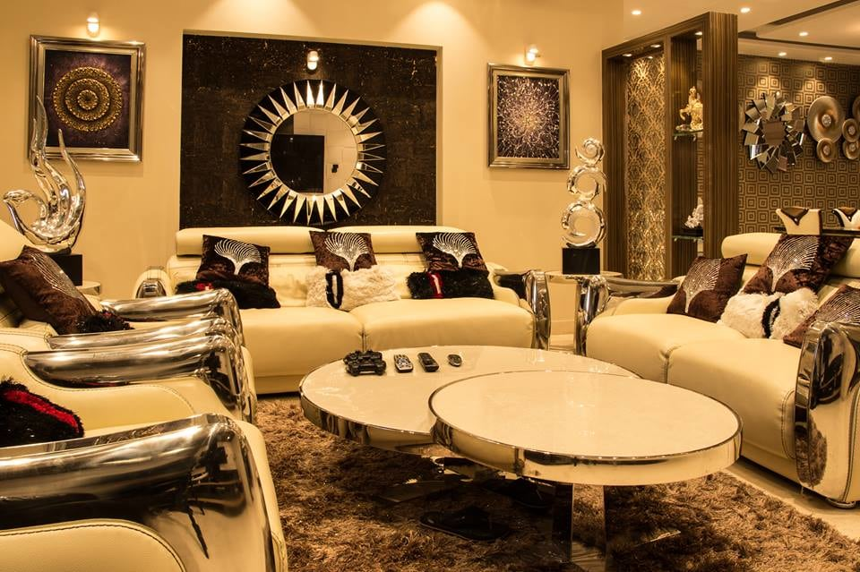 Regal living room decor by Furnish Your Dream Living-room Contemporary | Interior Design Photos & Ideas