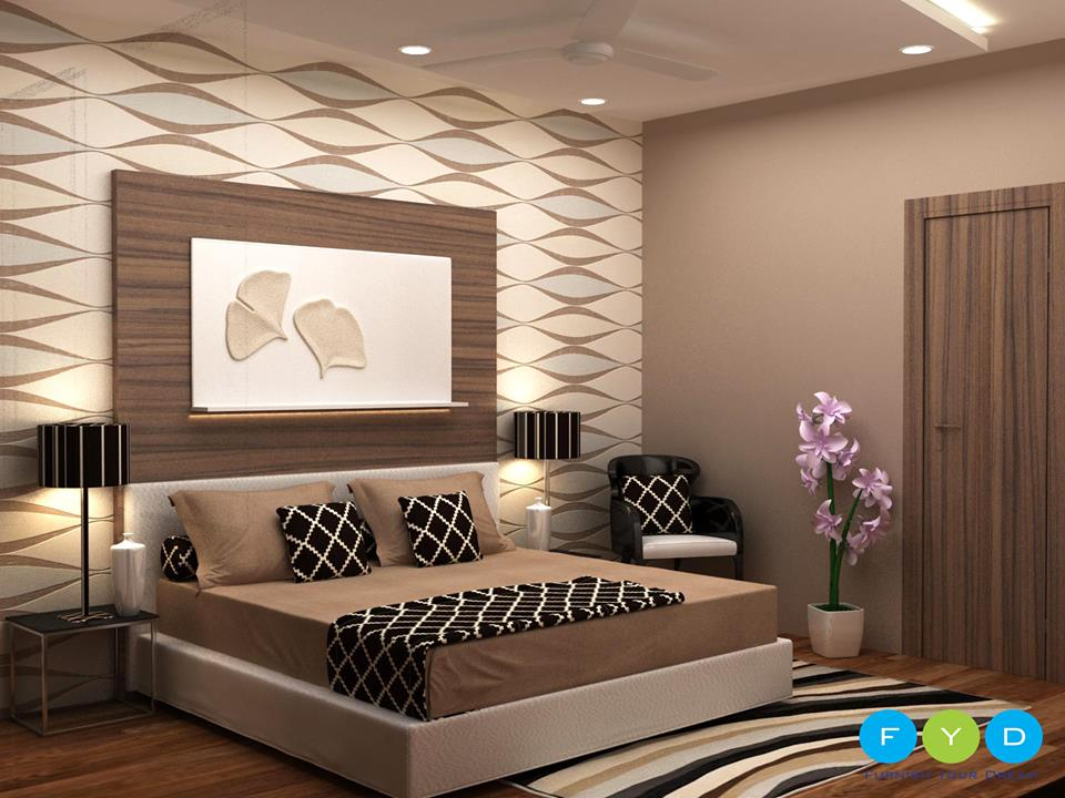 Neutral themed master bedroom decor by Furnish Your Dream Bedroom Modern | Interior Design Photos & Ideas
