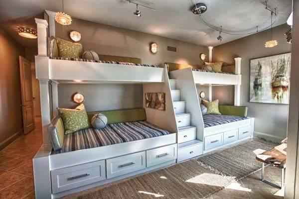 Unique kids bedroom decor by Burhani Design Studio Bedroom Modern | Interior Design Photos & Ideas
