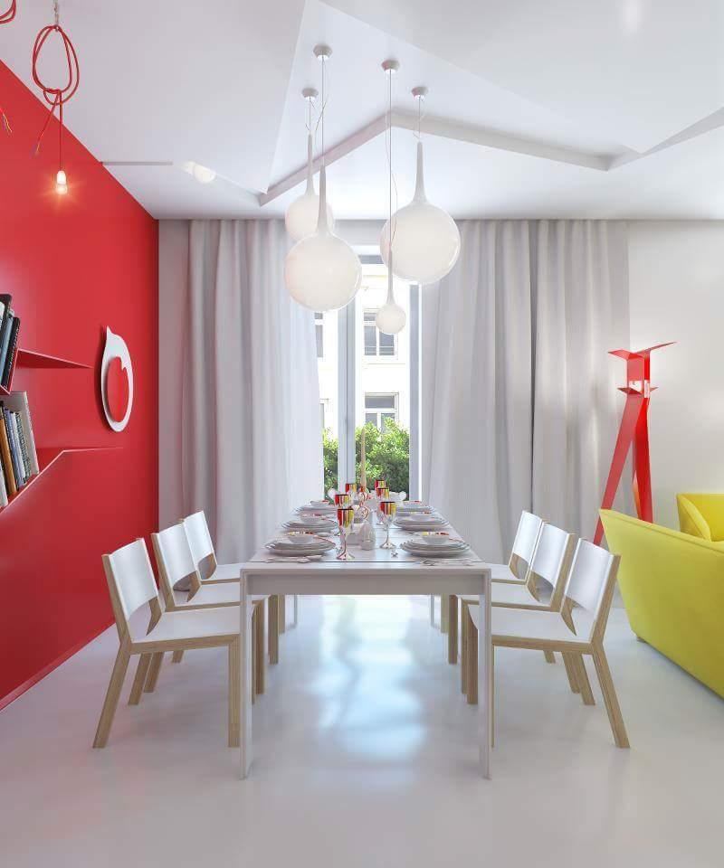 Modern dining room decor by Burhani Design Studio Dining-room Modern | Interior Design Photos & Ideas