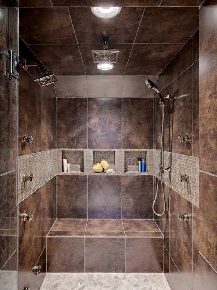 Plush bathroom decor by Burhani Design Studio Bathroom Modern | Interior Design Photos & Ideas