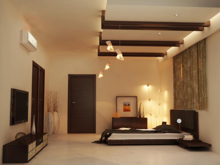 A Lavish Bedroom with wooden furniture by Bella Cucina Consultancy Bedroom | Interior Design Photos & Ideas