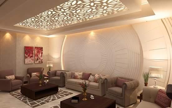 A 3D lavish living room by Bella Cucina Consultancy Living-room | Interior Design Photos & Ideas