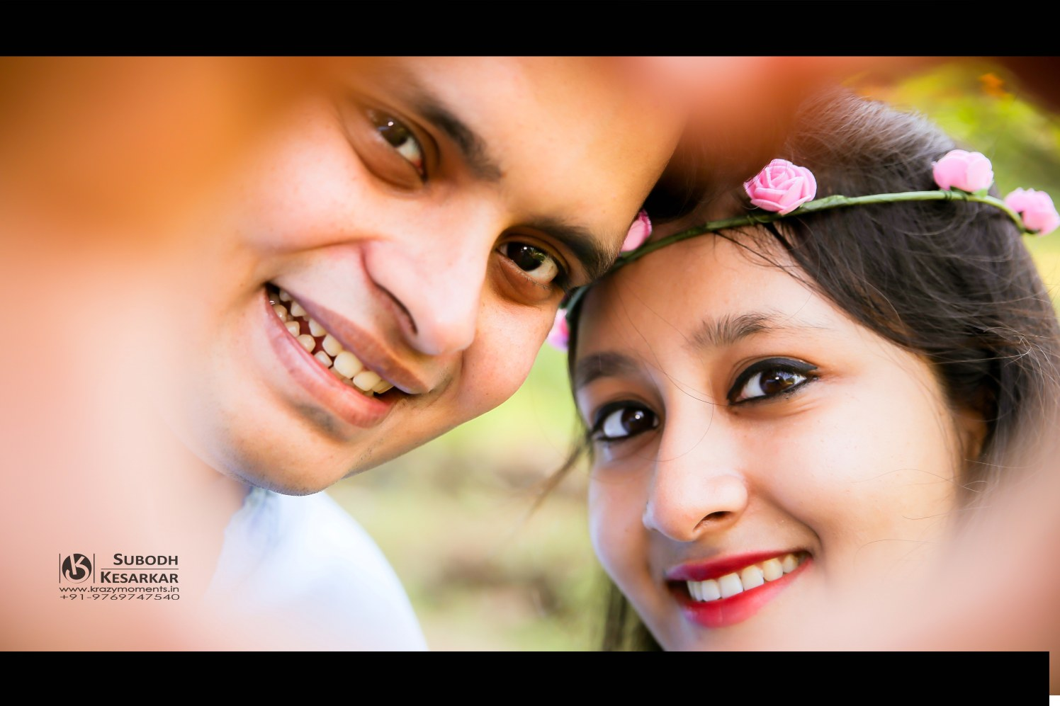 Perfect is our smile and togetherness by Krazy Moments Wedding-photography | Weddings Photos & Ideas