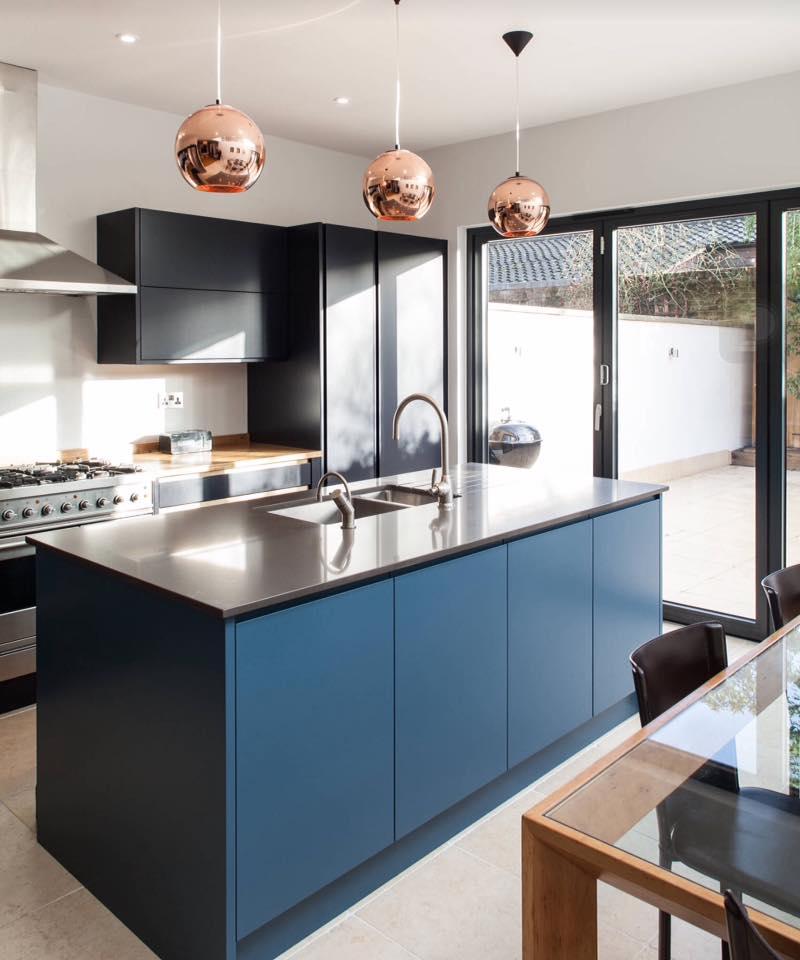 3-D effect modular kitchen by Mansion Kitchen Modular-kitchen Modern | Interior Design Photos & Ideas