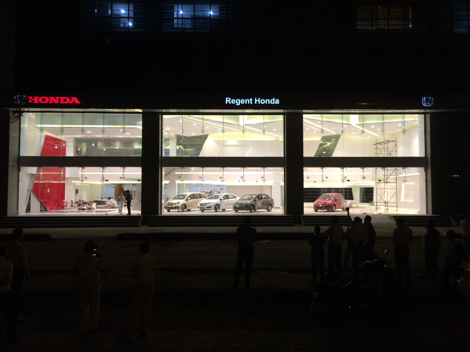 Honda showroom by Sahil Constructions  | Interior Design Photos & Ideas