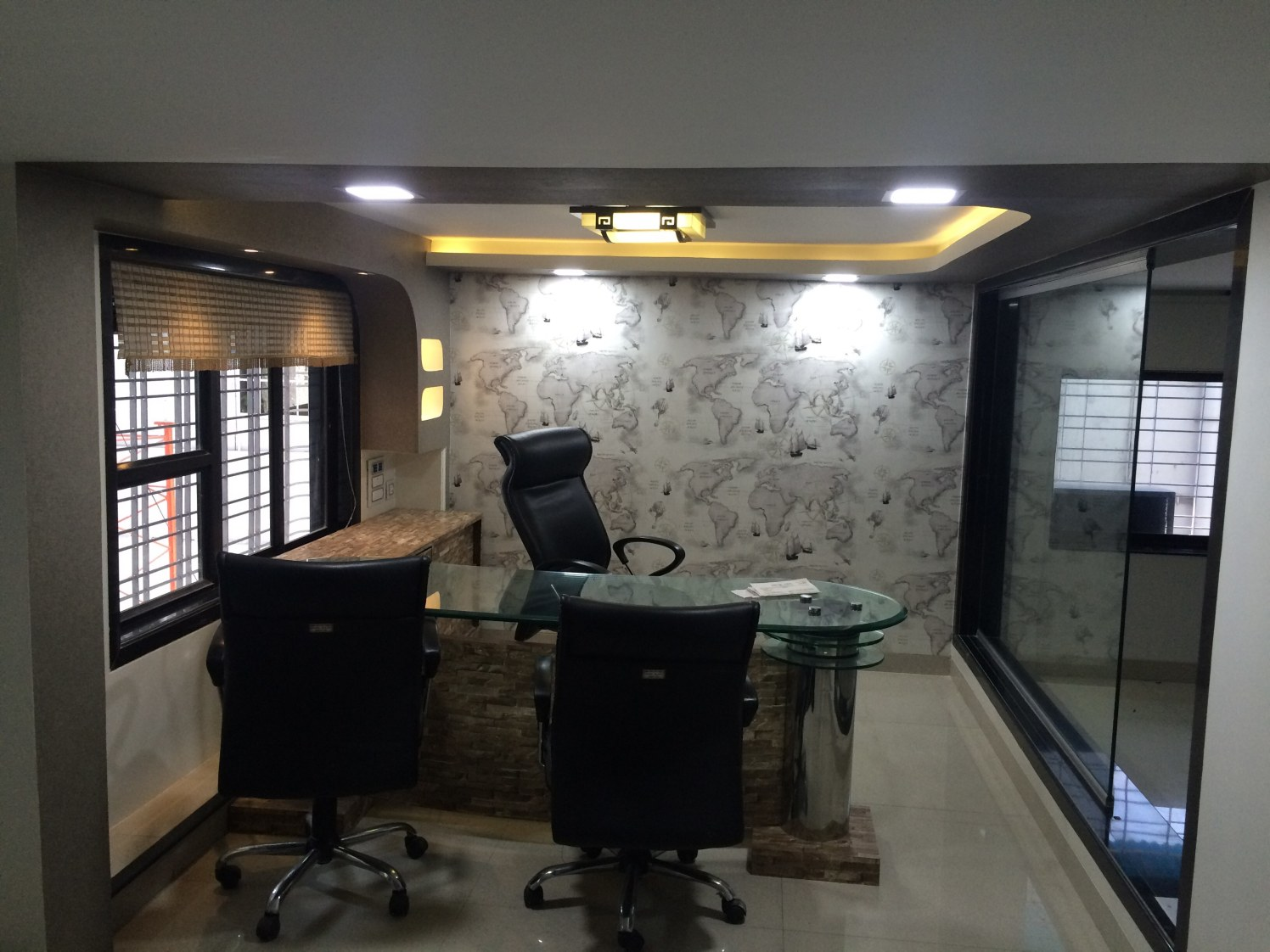 Small compound office by Sahil Constructions  | Interior Design Photos & Ideas