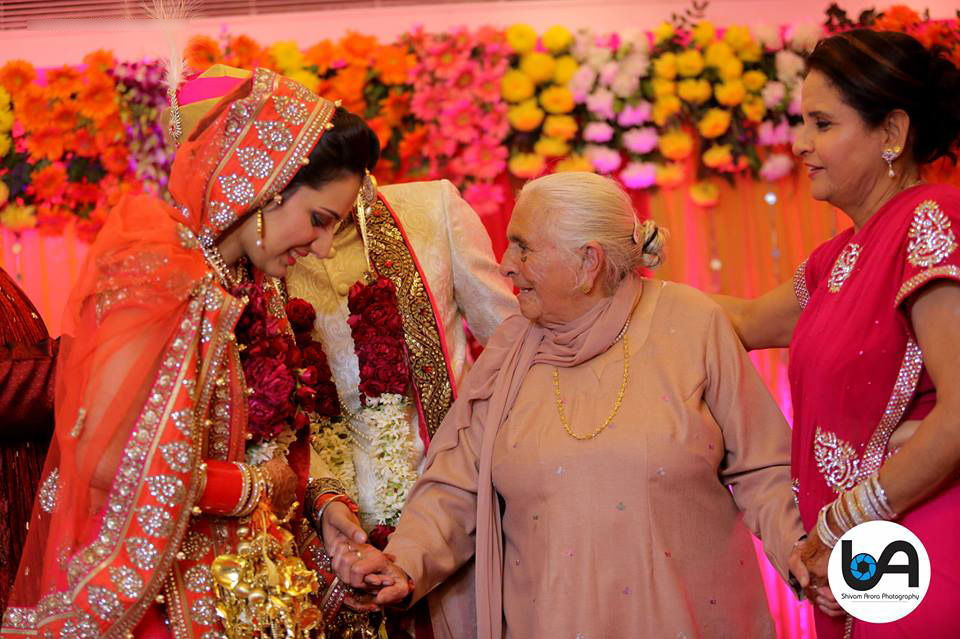 Blessings are auspicious for our new life by Shivam Arora Photography Wedding-photography | Weddings Photos & Ideas